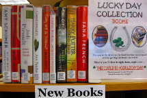 The library offers print and digital collections