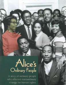 Documentary film cover of Alice's Ordinary People