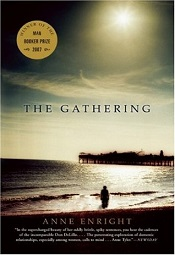 Book cover of The Gathering by Anne Enright